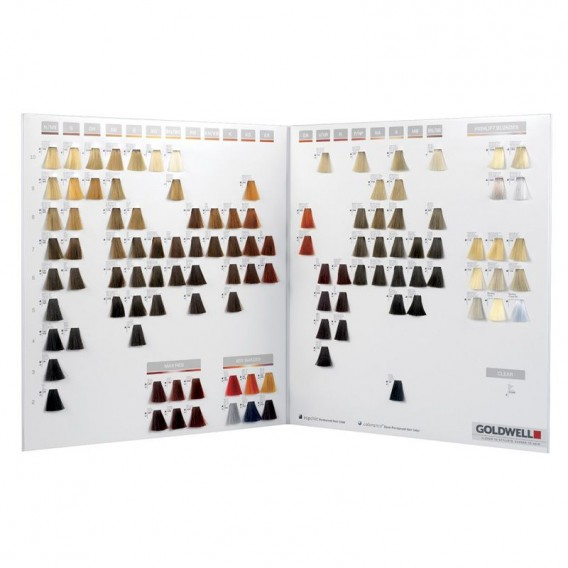 Goldwell Color Card - Topchic + Colorance 2013