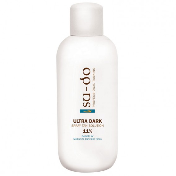 Su-do Ultra Dark 11% Original Spray Tanning Solution 1 Litre