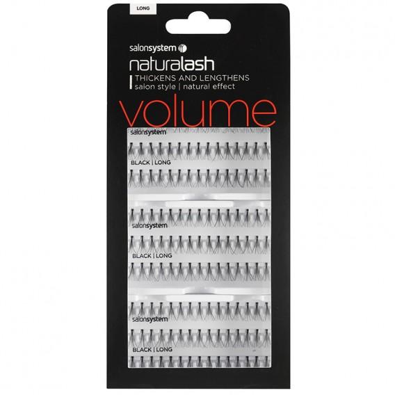 Salon System Salon Value Individual Lashes Black