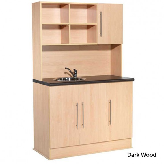 REM Boston Dispensary Unit Dark Wood