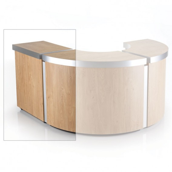 REM Helix Straight Reception Desk