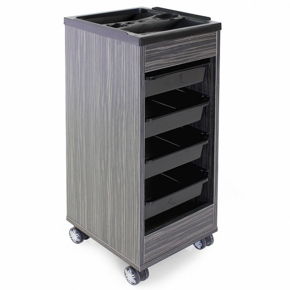 REM Stadium Trolley Dusk with Black Accessory Top & Trays
