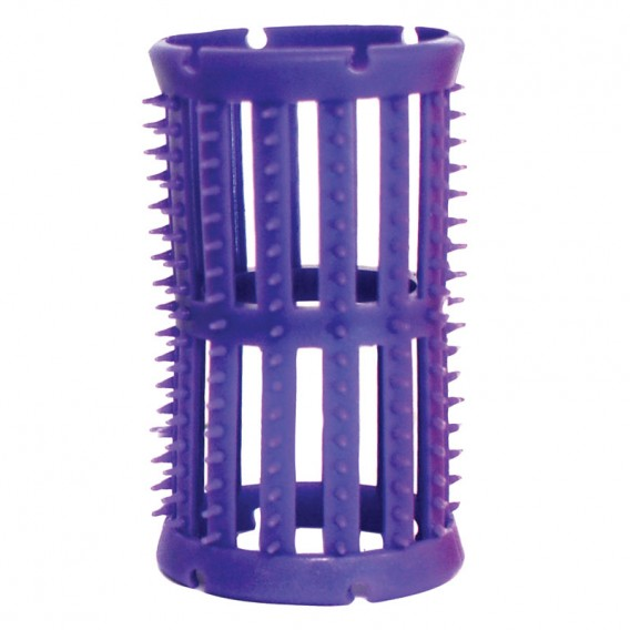 Head Jog Rollers with pins Lilac x 12 (36mm)
