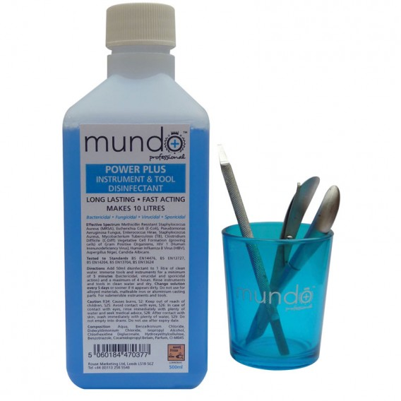 Mundo Power Plus Concentrated Instrument Disinfectant 500ml