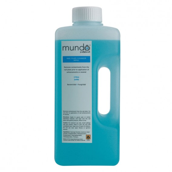 Mundo Nail Plate Cleanser Refill 2 litre
