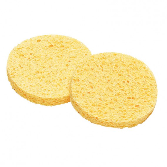 Lotus Essentials Yellow Cellulose Sponges Large x 2