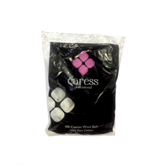 Caress Professional Cotton Wool Balls x 100