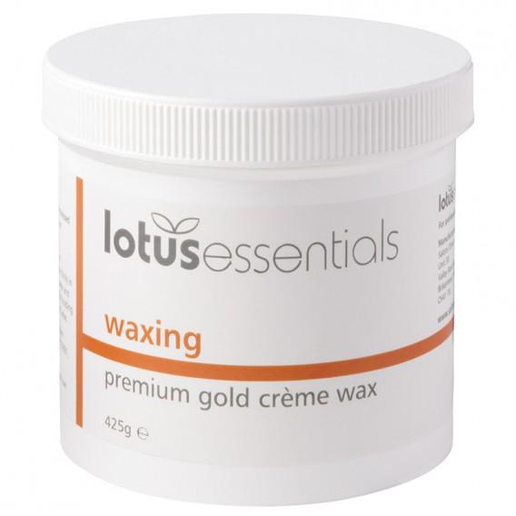 Lotus Essentials Premium Creme Gold Wax 425g