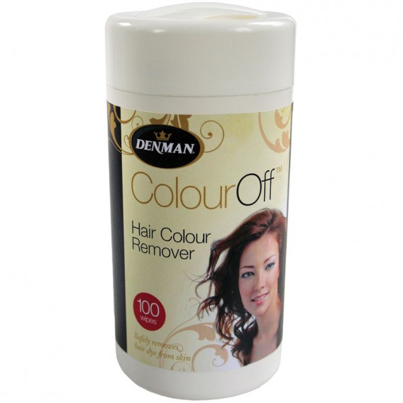 Denman Colour Off Hair Colour Remover Wipes  Salons Direct