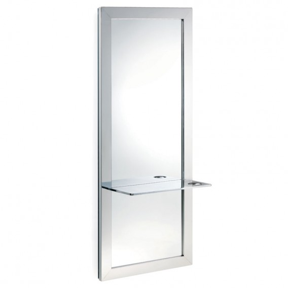 REM Vision Mirror with Cast Metal Shelf