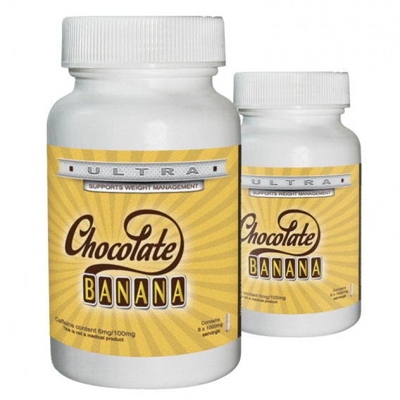 Chocolate Banana ULTRA Slimming Tablets - 30 Caps