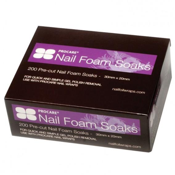 Procare Nail Foam Soaks x 200
