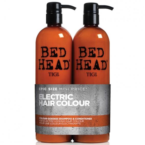TIGI Bed Head Colour Combat Colour Goddess Tween Duo 750ml x 2