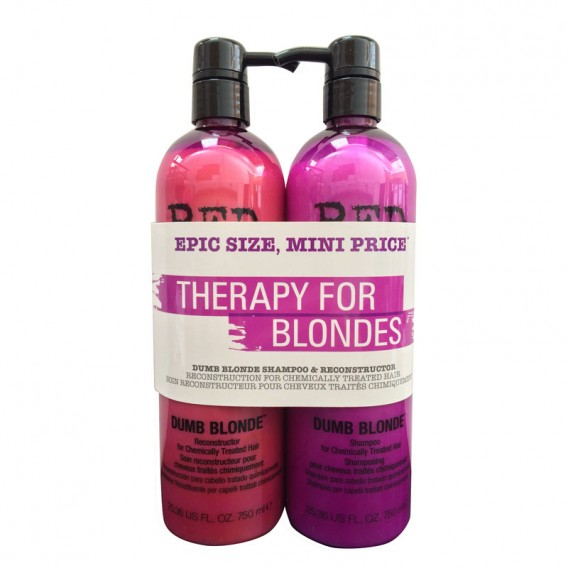 TIGI Bed Head Colour Combat Dumb Blonde Tween Duo 750ml x 2