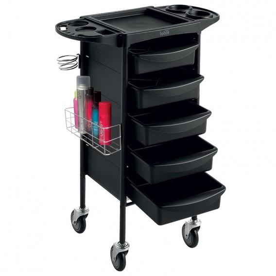 lotus onyx salon equipment trolley black salons direct. Black Bedroom Furniture Sets. Home Design Ideas