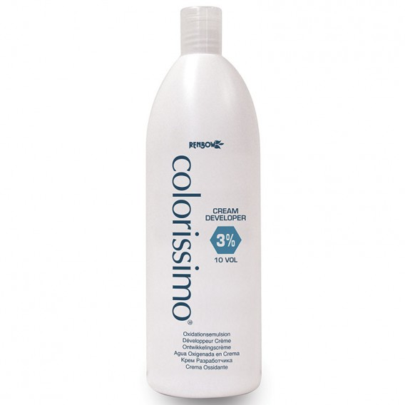 Renbow Colorissimo Cream Developer 3% 10 Vol 1 Litre
