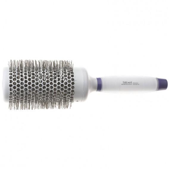 Sibel White Silicon Gel Tourmaline Nylon Brush 360 53mm