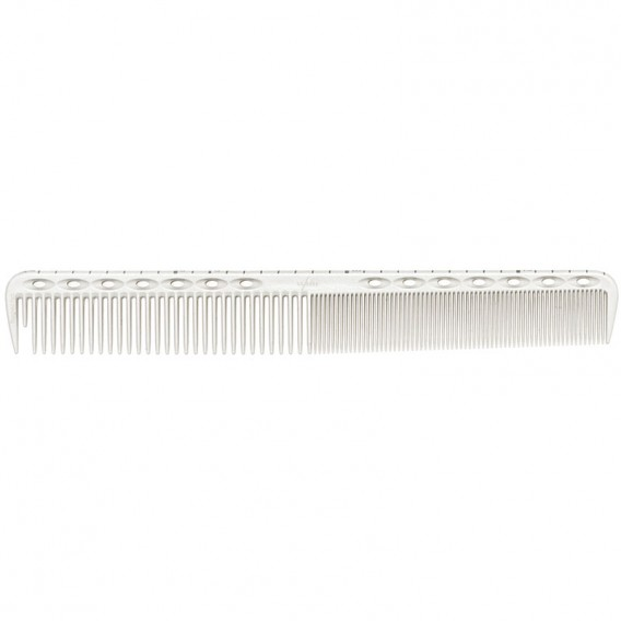 YS Park YS G39 Basic Fine Cutting Comb with Guide White