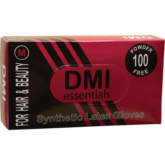 DMI Synthetic Latex Powder Free Gloves Medium 50 pairs