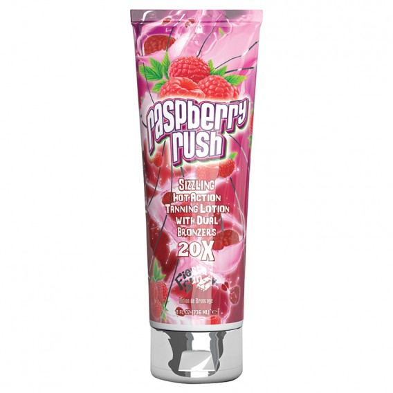 Fruity Scentsations Raspberry Rush 236ml Tanning Accelerator by Fiesta Sun