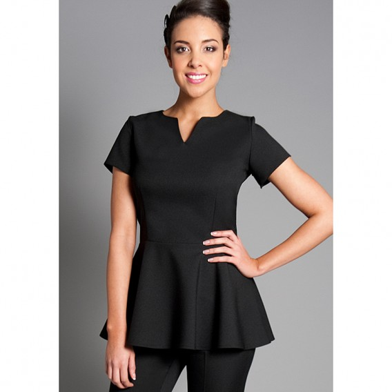Peplum Tunic by Florence Roby