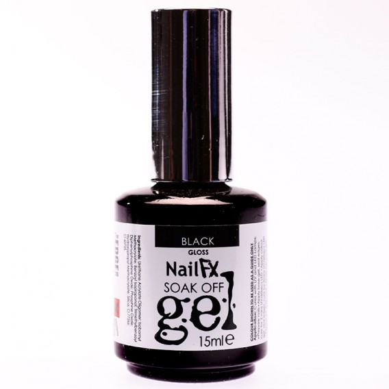 NailFX Soak Off Coloured Gel Polish 15ml