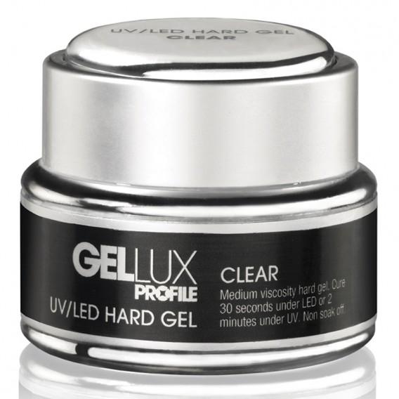 Profile Gellux UV/LED Hard Gel Clear 15ml