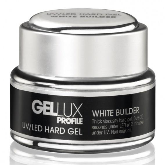 Profile Gellux UV/LED Hard Gel White Builder 15ml