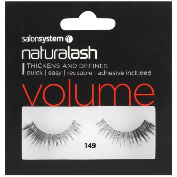 Salon System Naturalash 149 Black Strip Lashes