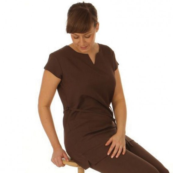 Belted Tunic Chocolate