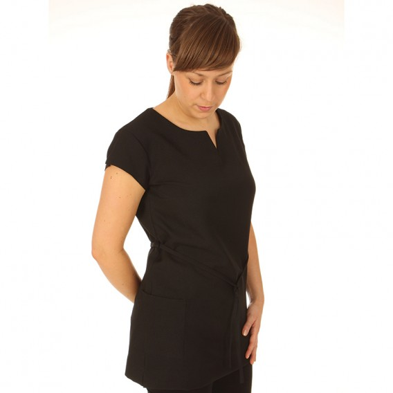 Belted Tunic Black