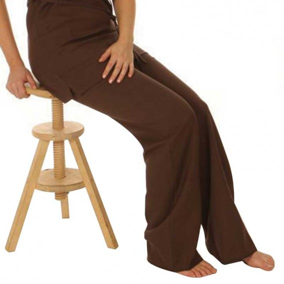Wide Leg Trouser Chocolate