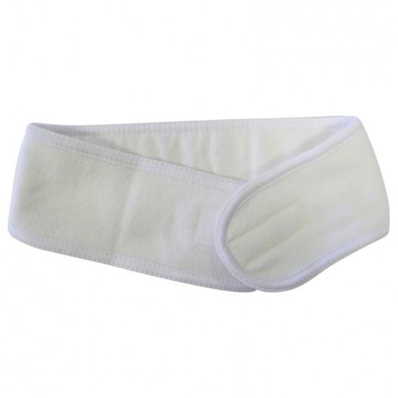 Luxury Cotton Headband White