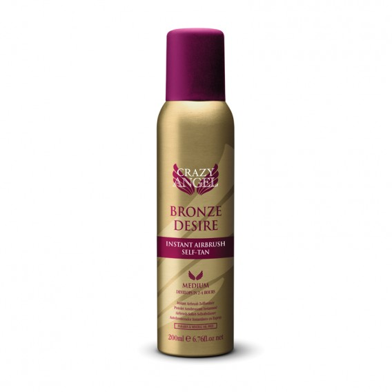CRAZY ANGEL Bronze Desire Instant Airbrush Tan 200ml