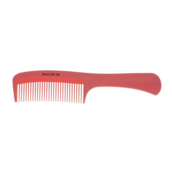 Head Jog 206 Detangle Comb Pink