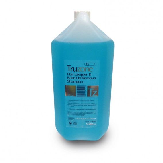 Truzone Hair Lacquer & Build Up Remover Shampoo 5 Litre