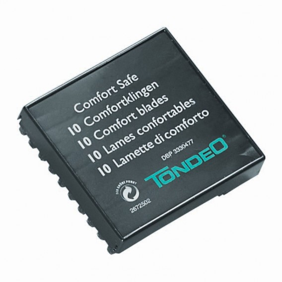 Tondeo Comfort Safe Blade (10x10)