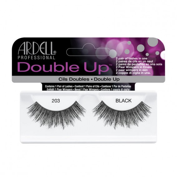Ardell Double Up Strip Lashes 203 Black