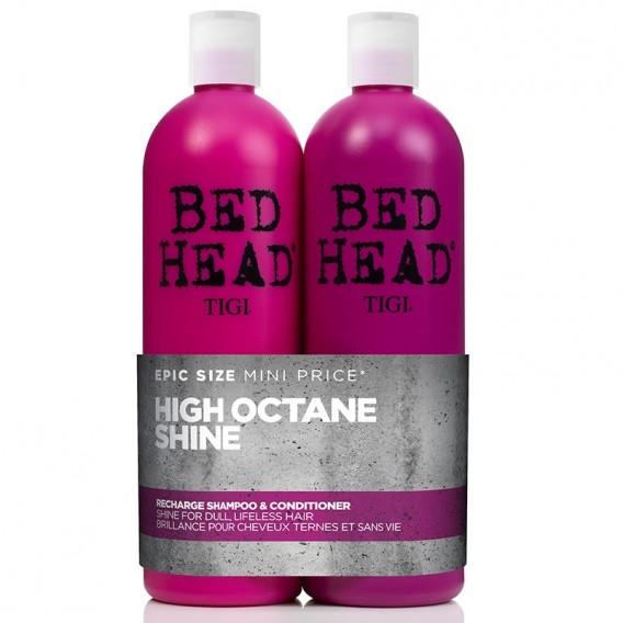 TIGI Bed Head Superfuel Recharge Shampoo & Conditioner Tween Duo Pack 750ml