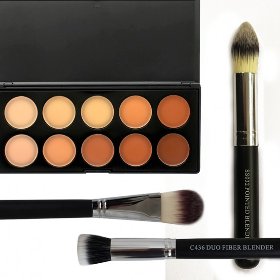 Crown Brush Contouring Pack