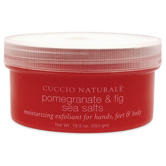 Cuccio Naturale Pomegranate & Fig Sea Salts 553g (19.5oz)