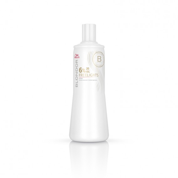 Wella Blondor Freelights Developer 6% 1 Litre