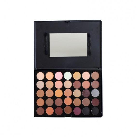 Crown Brush 35 Colour Nude Palette
