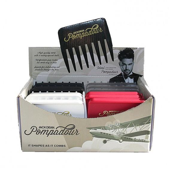 Jack Dean Pompadour Comb Box of 24