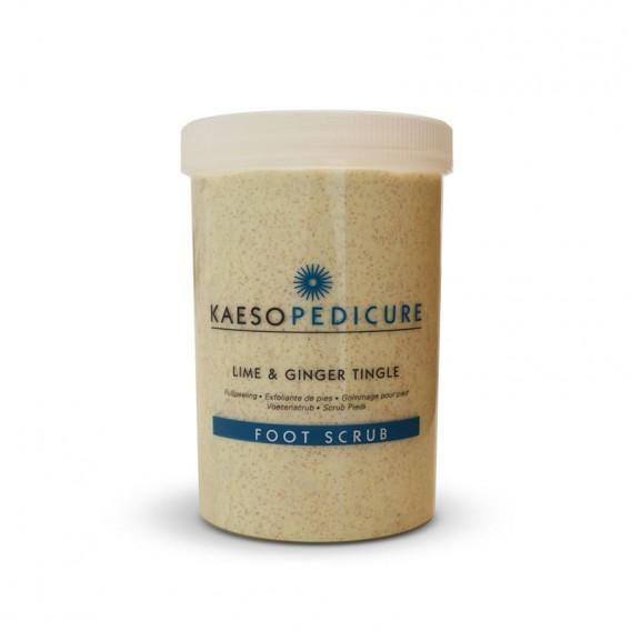 Kaeso Lime and Ginger Tingle Foot Scrub 1200ml