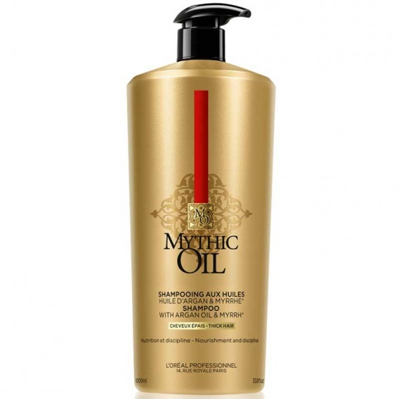L'Oreal Professionnel Mythic Oil Shampoo Thick Hair 1000ml