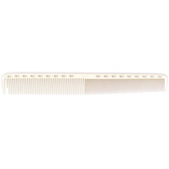 YS Park YS335XL Fine Tooth Comb White