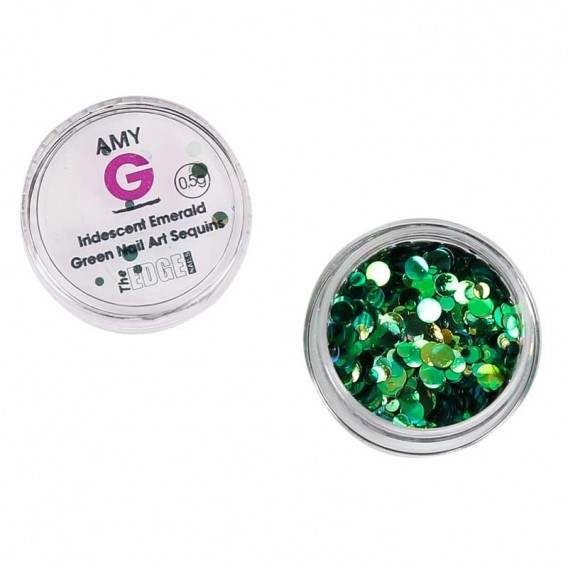 Amy G Nail Art Sequins 0.5g by The Edge | Salons Direct