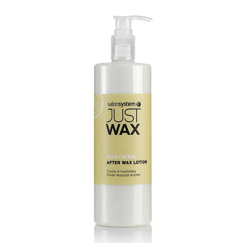 Just Wax Soothing After Wax Lotion 500ml Salons Direct