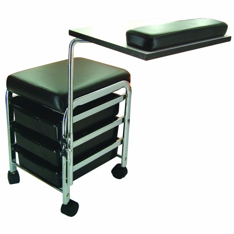 Lotus metro mobile manicure station salons direct for Mobile nail technician table